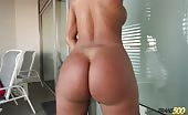 nicolly noquiera jack her shecock and shows off bouncy ass