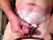 TONETTA CUMS INTO CLAY WASH BOWL